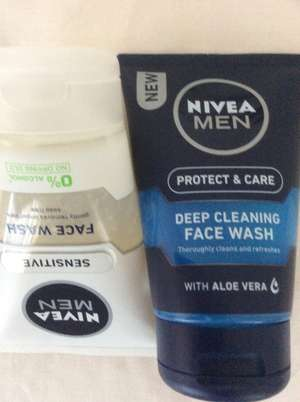 Nivea men deep cleaning face wash - £1.49 @bodycare