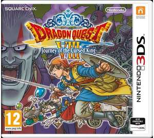 Dragon Quest VIII Journey of The Cursed King (Nintendo 3DS 2DS) £20.99@ARGOS