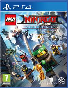 LEGO Ninjago Movie Game Videogame (PS4) @ Amazon - £14.99 Prime / £19.94 non-Prime