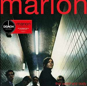 Marion - this world and body , red vinyl LP 10 euros , £13.13 delivered [ amazon france ]