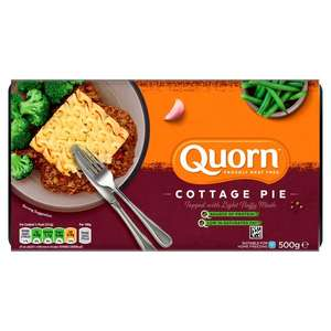 Quorn Ready Meals 3 for £5 (& Other Quorn Fridge Products) Tesco