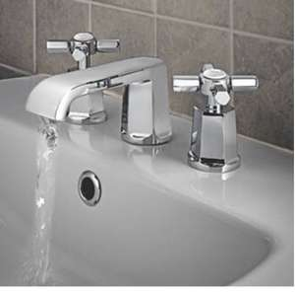 WATERSMITH HERITAGE BATHROOM BASIN MONO MIXER TAP WITH CLICK WASTE - £9.99 @ Screwfix