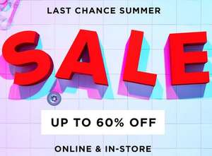 Summer Sale up to 60% at River Island