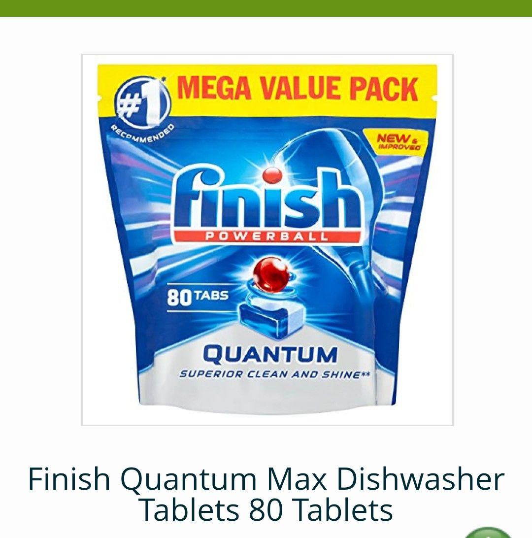 FINISH DISHWASHER TABLETS - £4.99 @ Approved Foods (£5.99 delivery)