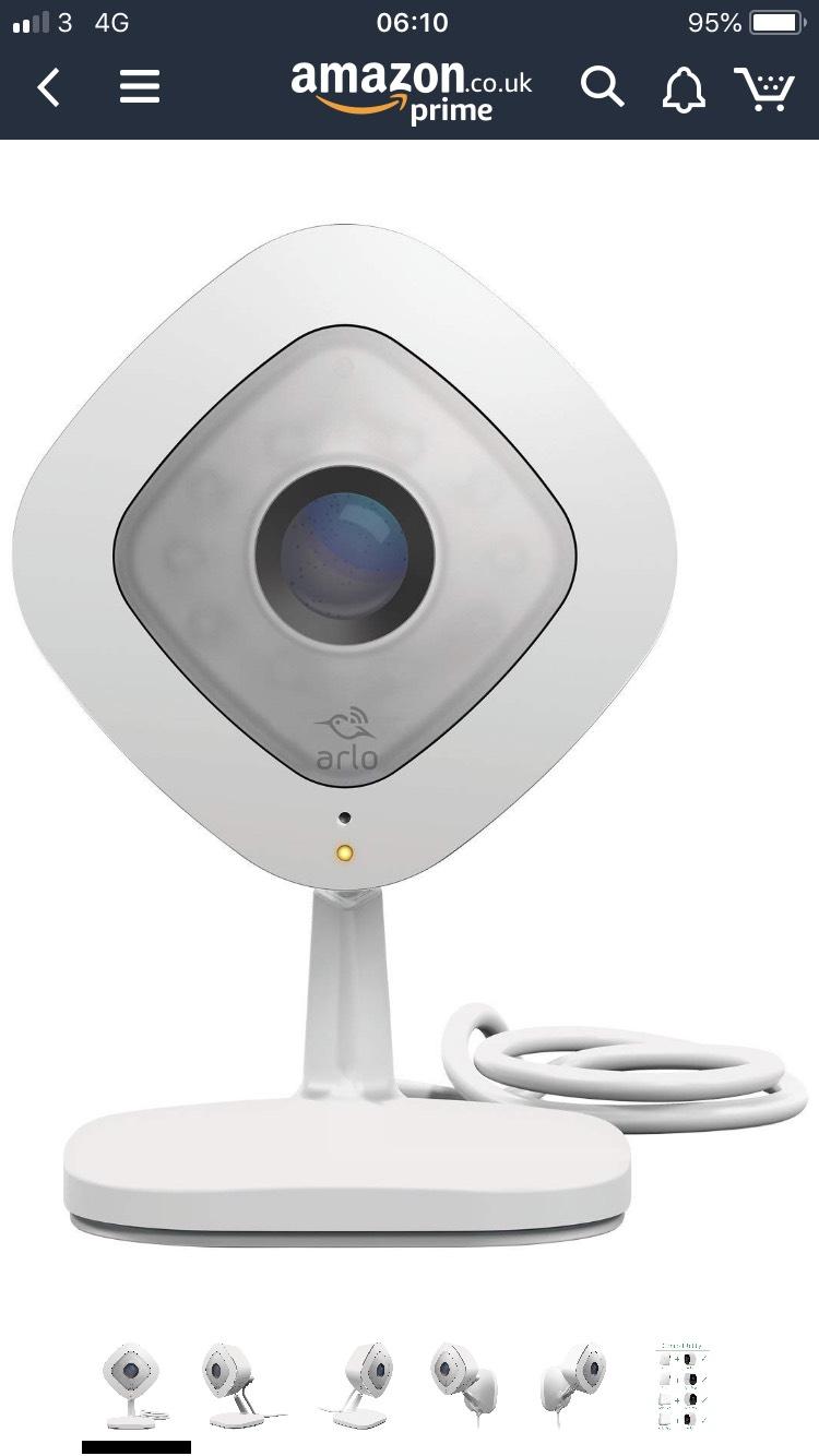 NETGEAR VMC3040 Arlo Q Smart Home 1080p Full HD Security Camera £99.99 Amazon