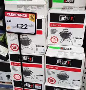 Weber Smokey Joe (Black) £22 in store at B&Q Riverside Nottingham 50% off