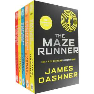 The Maze Runner was £39.95 now £10 @ The Works - free c&c.   and £7.50 with code SAVE25