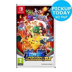 Pokken Tournament DX Nintendo Switch £32.99 @ Argos eBay