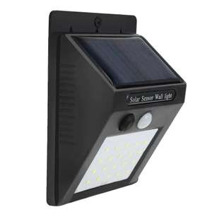 Motion Sensor Solar Light with FREE LED Flame Light Bulb E26 @ Gearbest App (£5.42 when not using app) ($5.77 = paypal = £4.63)