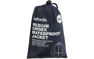 Unisex Waterproof Jacket 4 sizes  Now £8 get an extra 10% off with AA Rewards details in listing @ Halfords