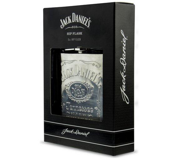 Jack Daniel's 6oz Hipflask 724/3774 £7.99 @ Argos Free C+C