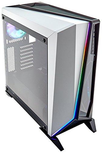 Corsair Carbide SPEC-OMEGA RGB Tempered Glass Mid-Tower ATX Gaming Case - Black/White - £109.99 @ Amazon