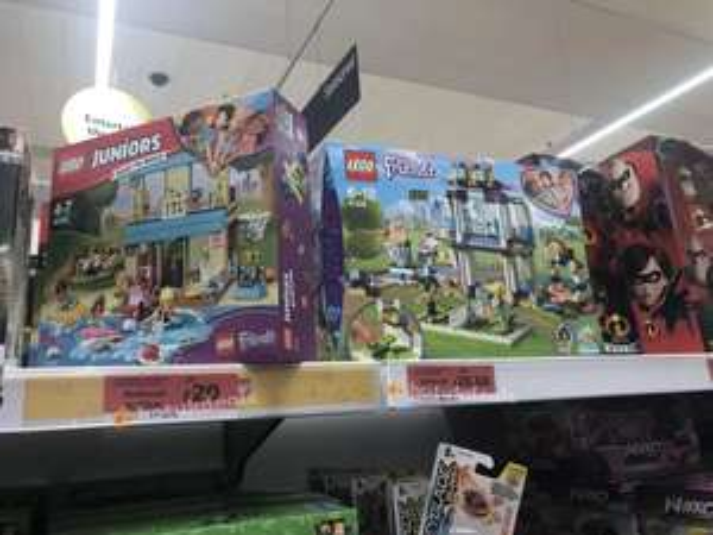 Sainsbury's Lego clearance instore