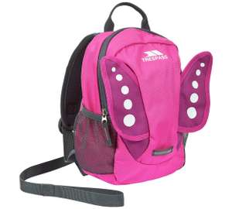 Disney cars3 /Trespass Butterfly Reins/Minions 3D/Trespass Rabbit Reins Backpack £4.99 @ Argos
