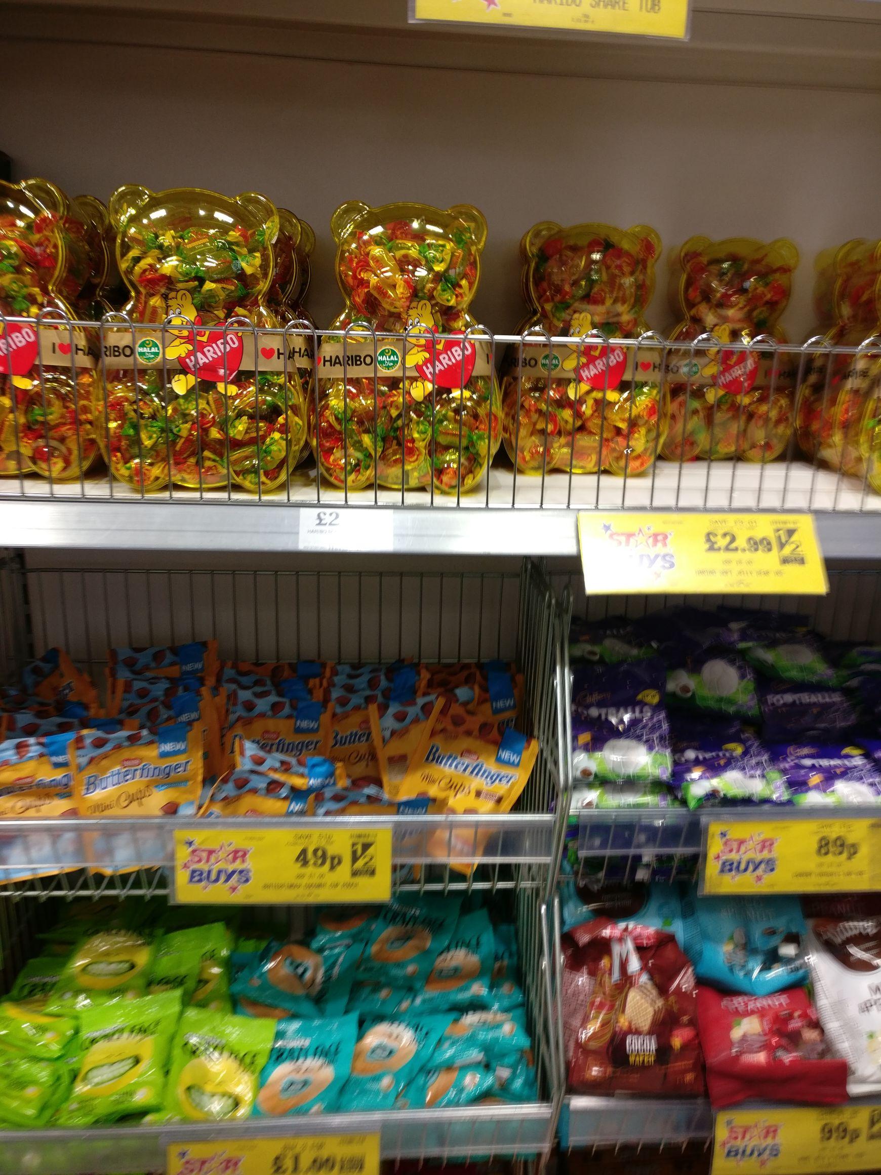 I Love Haribo Vegetarian-Friendly (also suitable for Halal) 1000g - £2.99 instore @ Home Bargains