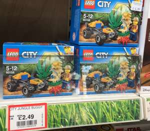 Dobbies - Lego City Jungle Buggy half price £2.49 instore