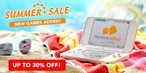 Nintendo 3DS eShop Summer Sale *New Games Added*