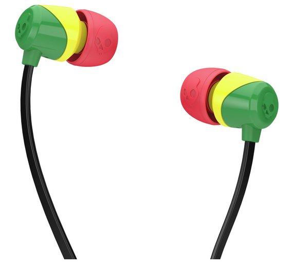 Skullcandy Rasta Jib In-Ear Headphones - £3.99 @ Argos