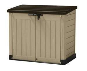 Keter Store It Out Max Plastic Garden & Wheelie Bin Store was £119.00 now £95.00 @ Wickes + MORE