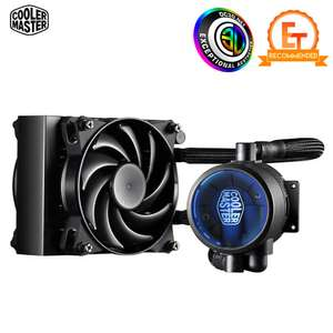 Cooler Master MasterLiquid Pro 120 Blue LED CPU Liquid Cooler Kit at CCL Online for £39.99