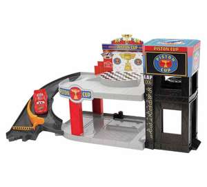 Disney Cars Piston Cup Racing Garage Playset at Argos for £13.99