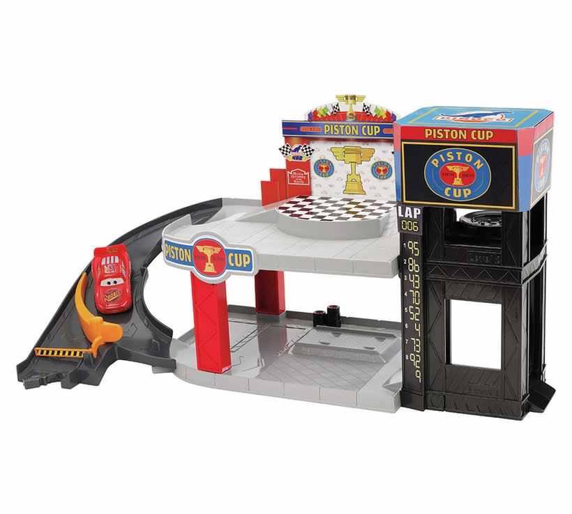 Disney Cars Piston Cup Racing Garage Playset at Argos for £13.99