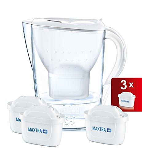 BRITA Marella Cool Water Filter Jug and Cartridges Starter Pack, White @ Amazon - £18.09 Prime / £23.04 non-Prime