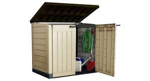 Keter store-it out Max outdoor plastic storage - £87.95 (discount at checkout) @ Amazon