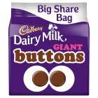 Cadbury Dairy Milk Giant Buttons Chocolate Bag 252g more in Post - £2 @ Sainsbury's