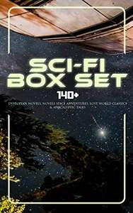 H.G. Wells & Others -  Sci-Fi Box Set: 140+ Dystopian Novels, Novels Space Adventures, Lost World Classics & Apocalyptic Tales Kindle Edition  - Free Download @ Amazon