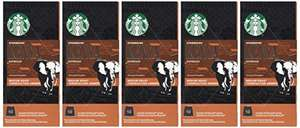 Starbucks Kenya Espresso Capsules Nespresso Compatible @ Amazon - £12.50 Prime / £17.45 non-Prime / £11.88 with Subscribe & Save (Pack of 5, Total 50 capsules)