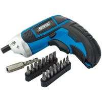 Draper Cordless Li-ion Screwdriver Kit - £7.50 @ Manomano (delivery from £2)