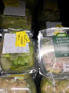 Chicken and Bacon Pasta salad reduced to 5p Instore only @Asda Halifax