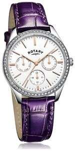 Brand New Rotary Ladies' Multi Dial Purple Strap Watch. From the Argos Shop on ebay for £19.99