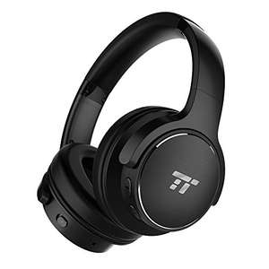 TaoTronics BH040 Noise Cancelling Bluetooth Headphones Over Ear with 30 Hour Playtime @ £35.99 Sold by Sunvalleytek-UK and Fulfilled by Amazon