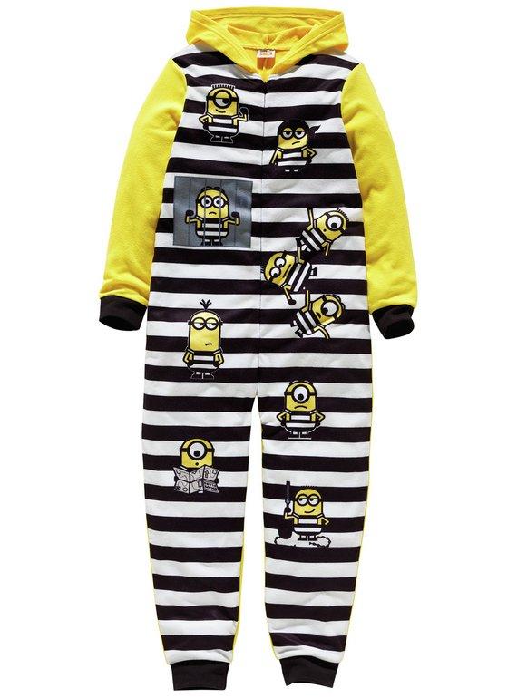 Minions Yellow Onesie  - 5-6 / 7-8 / 9-10 years now £3.99 @ Argos