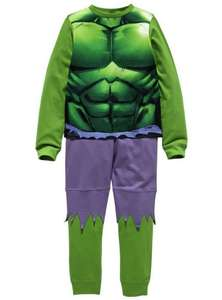 Hulk  / Iron Man Novelty Kids Pyjamas - Ages 2-3/3-4/5-6/7-8 now £3.99 / Superman £5.99 @ Argos