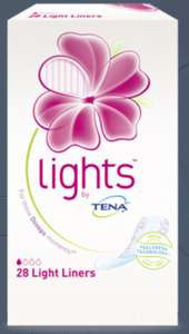 Free sample pack of Tena Lights @ Tena