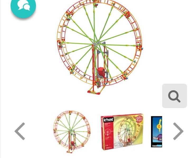 K'nex Revolution Ferris Wheel - £16.99 / £18.98 delivered @ Thegiftandgadgetstore