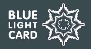 Blue Light Card - £4.99 for 5 years - for Emergency Services, Armed Forces , NHS Staff and others (listed below)