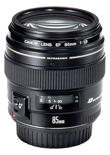 Canon EF 85mm f/1.8 USM Lens - Black [pre-order] - £186 @ Amazon
