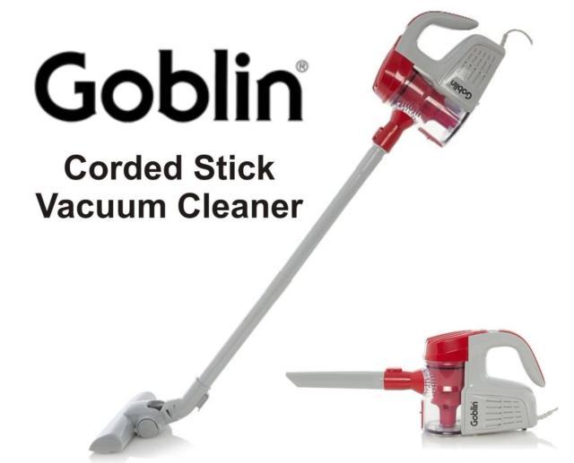 Goblin GSV301R (600W) HEPA Stick Vacuum Cleaner - Red  - Now £22 @ Asda George