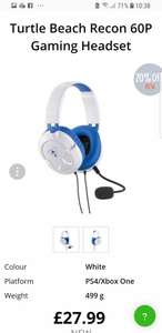 (New) Turtle beach gaming headset ps4 @ Music Magpie - £22.39