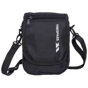 HELICON 1 LITRE TRAVEL SHOULDER BAG - TRESPASS - 64% off, was £13.99 FREE C&C or £2.95 Delivery