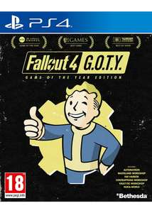 [PS4] Fallout 4: Game of the Year Edition - £14.99 - Base