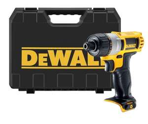 DEWALT DCF610N - 10.8V SCREWDRIVER (NAKED UNIT) INCLUDES TOUGH CARRY CAS - £44.99 @ Toolsense