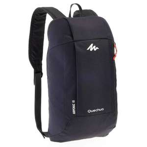 Arpenaz 10L Backpack 10yr Abrasion Guarantee Free C&C - £2.49 @ Decathlon