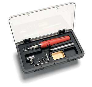 Weller WP3EU Butane Gas Operated Soldering Iron set £27 @ Sold by WilliamsTools and Fulfilled by Amazon.