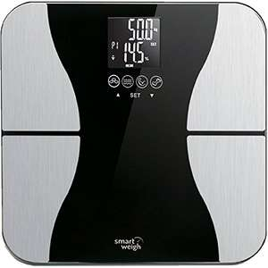 Smart Weigh Body Fat Digital Precision Scale with Tempered Glass Platform £17.99 Delivered Sold by Five Star and Fulfilled by Amazon