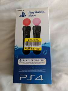 PlayStation Move Controllers instore at Tesco for £17.50